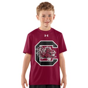 Fitness Even future college stars need gear that can keep up with every game, all season. UA was already in college stadiums and on the fields. Now we're bringing that same performance to the youngest athletes. Graduate to gear worthy of a Gamecocks fan. Lightweight UA Tech(TM) fabric with an ultra-soft, natural feel for unrivaled comfortSignature Moisture Transport System wicks sweat away from the bodyAnti-odor technology prevents the growth of odor-causing microbesSmooth, chafe-free flatlock seam constructionPolyesterImported - $20.99
