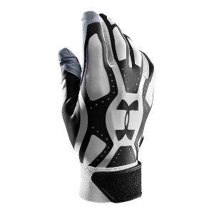 Sports HeatGearA(R) on the back of hand wicks away moisture and adds stretch for greater mobilitySynthetic leather palm with Armour Grabtack(TM) for increased grip and durabilityContoured neoprene cuff for added wrist support that won't hinder range of motionInternal lockertag Sold in pairsImported - $24.99