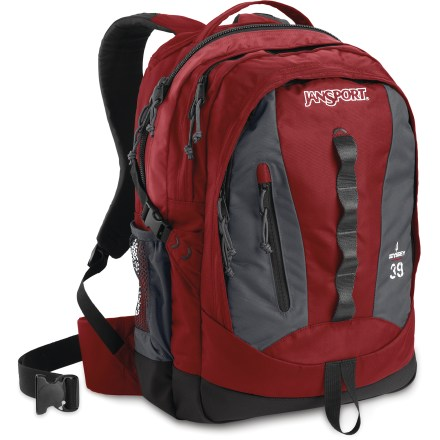 Camp and Hike The JanSport Odyssey pack is a comfort superstar! It sports a rich array of features that will come in handy when you're commuting across town or hitting the trail. - $79.93