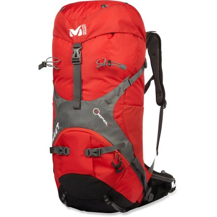 Camp and Hike With its technical alpine profile, ergonomic harness and well-built, durable functionality, the Millet Axpel 42 pack is a perfect companion for venturing into the mountains and backcountry. - $108.83