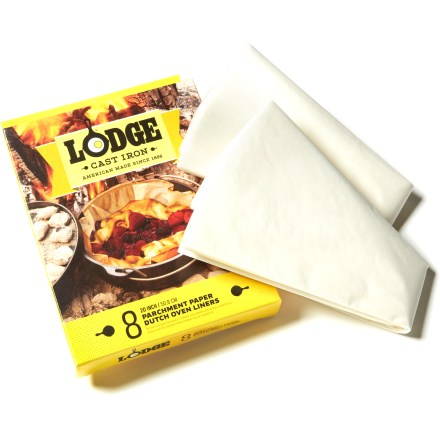 Camp and Hike Spend less time scrubbing dishes and more time making S'mores! Lodge Camp Dutch Oven liners let you cook your meal, then toss the liners for lightning fast, water-free clean-up. - $6.95