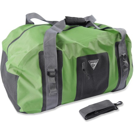 Kayak and Canoe Shelter your gear from splashes and rain with the Seattle Sports Hydralight duffel. - $39.83