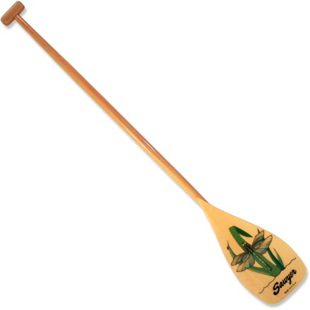 Kayak and Canoe Start young paddlers out right with the 38 in. Sawyer Dragonfly Tale canoe paddle. Lightweight and tough, it's made just for children. - $33.93