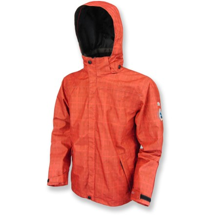 The Killtec Masseru Jr Tonal rain jacket offers boys a waterproof, windproof and breathable layer of comfortable protection from the elements while they enjoy wet-weather outdoor adventures. 2-layer polyester shell fabric features a membrane with a microporous polyurethane coating that helps ensure waterproofness while allowing interior moisture to escape. Drawcord hem and rip-and-stick adjustable cuffs all work to seal out rain and snow. Polyester mesh lining is comfortable against the skin. 3-panel hood features a brim and adjustable drawcord around the face. The Killtec Masseru Jr Tonal rain jacket features an internal zippered chest pocket and external zippered hand pockets. - $40.83