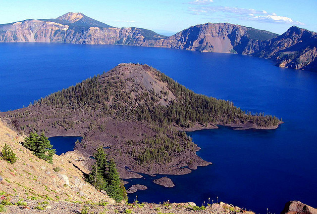 Camp and Hike Wizard Island, Crater Lake, Oregon