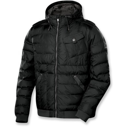 Entertainment The Sierra Designs Washpark Puffy jacket combines the stylish good looks of your favorite around-town jacket with the performance of an insulated coat to keep you looking sharp and feeling warm. - $129.73