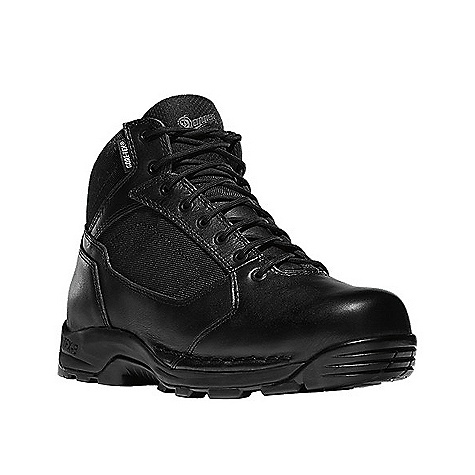 Camp and Hike Free Shipping. Danner Men's Striker Torrent 45 Boot DECENT FEATURES of the Danner Men's Striker Torrent 45 Boot Durable, polishable full-grain leather upper with rugged and lightweight 1000 Denier nylon Speed lace fastening system for secure fit Lace garage 100% waterproof and breathable GORE-TEX lining Removable cushioning polyurethane Polyurethane midsole provides superior cushioning and added durability New Danner TFX-8 platform is the lightest weight and most versatile TFX construction featuring a cross stitch design which provides added durability and stability in the lateral toe and medial heal pivot zones Vibram Striker Torrent outsole featuring a 360deg pentagonal low lug pattern for grip in all directions, a flex notch design in key pivot areas and a more rugged outer lug pattern which sheds water and provides maximum surface contact The SPECS 4.5in. height Nylon shank 48 oz - $159.95