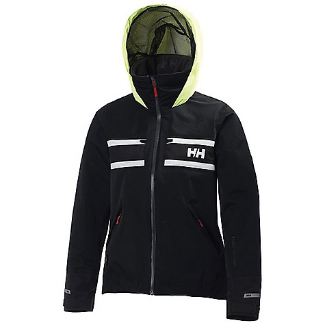 Free Shipping. Helly Hansen Women's Salt Jacket DECENT FEATURES of the Helly Hansen Women's Salt Jacket Helly Tech Performance 2 layer lined construction Hip length, famine fit Polar Tec fleece collar Fully adjustable tonal hood Water-resistant front zip PU inner cuff Solar reflective Hand warmer pockets Chest pockets One-hand adjustable hem Hanger hook Kill cord D-ring The SPECS 100% Nylon Fitting: Regular fit This product can only be shipped within the United States. Please don't hate us. - $224.95