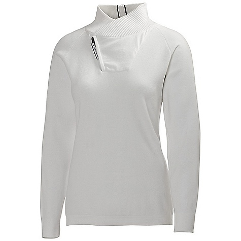 Free Shipping. Helly Hansen Women's Skagerak Knit Top DECENT FEATURES of the Helly Hansen Women's Skagerak Knit Top Heavy Cotton knit Zipped collar and neck opening HH stripe detailing Fitted Rib cuffs and hem HH logo on sleeve The SPECS 100% Cotton This product can only be shipped within the United States. Please don't hate us. - $99.95