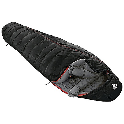 Camp and Hike Free Shipping. Vaude Kiowa 300 UL Sleeping Bag DECENT FEATURES of the Vaude Kiowa 300 UL Sleeping Bag For trekking tours in mild climates Body contoured mummy cut for optimal heat management Warmth collar Contoured hood Long side zip down to the foot section Pack sack with compression straps Spacious pack sack with a small zip pocket With large inner pocket made from soft mesh fabric The SPECS Weight: 1.004 kg Shell: 100% Polyester 50D 310T Lining: 100% Polyester 50D 290T Filling: 100% Polyester, 0.7D / 3D / 1.5D fibre - $139.95