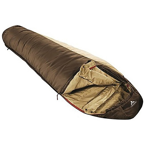 Camp and Hike Free Shipping. Vaude Blue Beech 450 Sleeping Bag DECENT FEATURES of the Vaude Blue Beech 450 Sleeping Bag For moderate climates Mummy comfort cut for exceptional comfort Sensofil Eco fill in a 3-layer construction with camel hair, Tencel and rec polyester Warmth collar Pillow compartment inside the hood Exceptionally soft and skin-friendly fabric with bluesign standard Long side zip down to the foot section With large inner pocket made from soft mesh fabric The SPECS Shell: 100% Polyester 50D 290T Ripstop Lining: 100% Polyester 50D 290T Filling: 33% Camel, 33% Polyester (recycled), 33% Lyocell (Tencel) - $166.45
