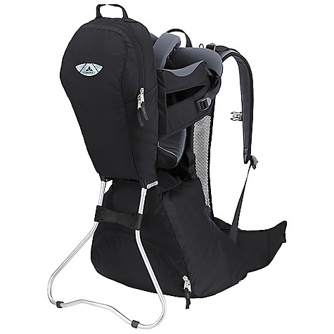 Free Shipping. Vaude Wallaby 12L Pack DECENT FEATURES of the Vaude Wallaby 12L Pack Front zip pocket Mesh back construction Spacious floor compartment Padded hip wings Adjustable seat height Belts can be reached from outside The SPECS 100% Polyamide 200 D Mini Ripstop Polyurethane coated Child Seat: 92% Polyester, 8% Elastane - $219.95