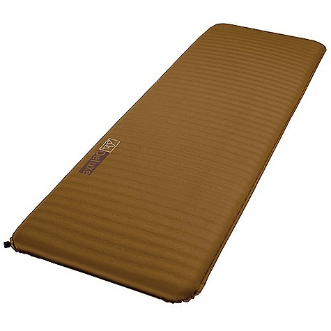 Free Shipping. Vaude Deluxe Sleeping Pad DECENT FEATURES of the Vaude Deluxe Sleeping Pad Stretchy, silky soft 50D stretch micro polyester fabric for a comfortable night's sleep The stretchy outer material and the foam core support the body in an optimal sleeping position Comes with a pack sack for transport and storage Comes with emergency repair kit Horizontal perforations in the foam along the entire length of the pad reduce overall weight and improve air inclusion With a user-friendly valve that has a 2 point safety closure The SPECS Weight: 1.382 kg - $99.95