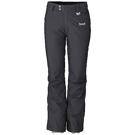 Free Shipping. Marker Women's POP Jean Pant DECENT FEATURES of the Marker Women's POP Jean Pant Fully Seam Sealed Adjustable Internal Velcro Waistband Tabs Inner Thigh Ventilation with YKK Zippers and Power Mesh Backing Lower Leg Gusset with Internal Powder Cuff and Gripper Elastic Scuff Guards Multiple Exterior Pockets Articulated Knees Relaxed Fit YKK Zippers The SPECS Inseam: 29in. 100% Nylon Taslan Dobby 6.6 oz/yd Insulation: 100% Polyester 80gm - $148.95