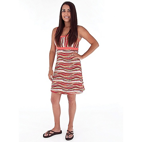 Entertainment Free Shipping. Royal Robbins Women's Silver Lake Dress DECENT FEATURES of the Royal Robbins Women's Silver Lake Dress Solid color inside bra Double straps crossing on back The SPECS Trim fit 36in. length Fabric: Wave Stripe 7.25 oz 92% Polyester / 8% Spandex Garment washed UPF 50+ - $64.95