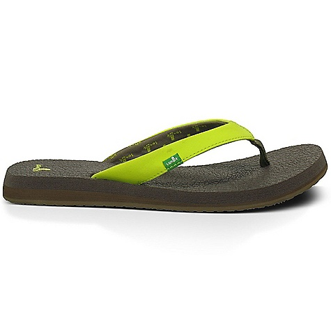 Fitness Sanuk Women's Yoga Serenity Sandal DECENT FEATURES of the Sanuk Women's Yoga Serenity Sandal Footbed Made From Real Yoga Mat! Happy U Rubber Sponge Outsole Synthetic Nubuck Strap with Printed Jersey Liner Vegan and Vegetarian - $29.95