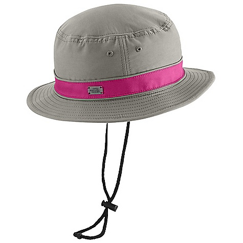 Entertainment The North Face Panama Brimmer Hat DECENT FEATURES of The North Face Panama Brimmer Hat Large brim Ultraviolet Protection Factor (UPF) 50 Terry sweatband Mesh panels with fabric overlay Removable drawcord The SPECS Shell: 70D 100% nylon Lining: 100% polyester mesh, 100% cotton sweatband This product can only be shipped within the United States. Please don't hate us. - $29.95