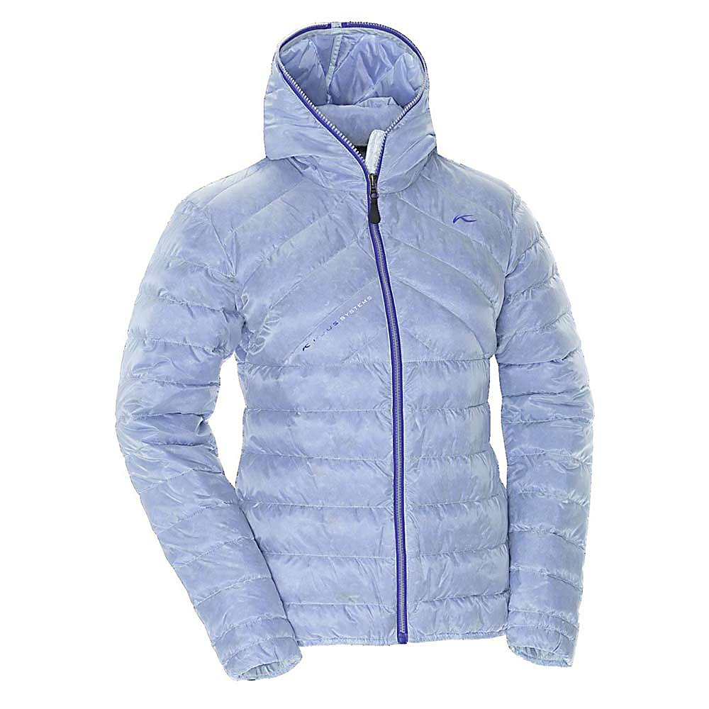 Ski KJUS Chromatic Down Womens Jacket - The Kjus Lightweight Chromatic Down Jacket has insulation to keep you plenty warm and a translucent colored fabric for a unique look. The premium down mix is in a perfectly spaced pattern that embraces you in a puff of warmth - leaving you with a cozy feeling. Kjus shapes a womens frame in a flattering silhouette that shouts a beautiful visual. The idea of warmth, looks and quality all wrapped up into one stunning Kjus Chromatic Jacket - will make this jacket your choice purchase of your winter go-to coats for the season. . Exterior Material: 100% Polyamide, Insulation Weight: 850g, Taped Seams: Critically Taped, Waterproof Rating: N/A, Breathability Rating: N/A, Hood Type: Fixed, Pit Zip Venting: No, Pockets: 1-3, Category: Light-Weight, Hood: Yes, Warranty: Lifetime, Use: Ski, Battery Heated: No, Race: No, Type: Insulated, Jacket Fit: Regular, Length: Short, Insulation Type: Down, Waterproof: Not Specified, Breathability: Not Specified, Waterproof Zippers: No, Closure Type: Full Zip Top, Wind Protection: No, Pockets: 1-2, Sleeve Type: Long Sleeve, Insulator: No, Model Year: 2013, Product ID: 309334, Model Number: LS15-526.24200 XS, GTIN: 7612997318506 - $239.92
