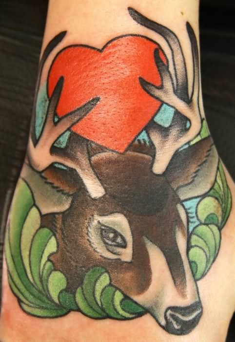 Hunting Awesome Whitetail Deer Tattoos!