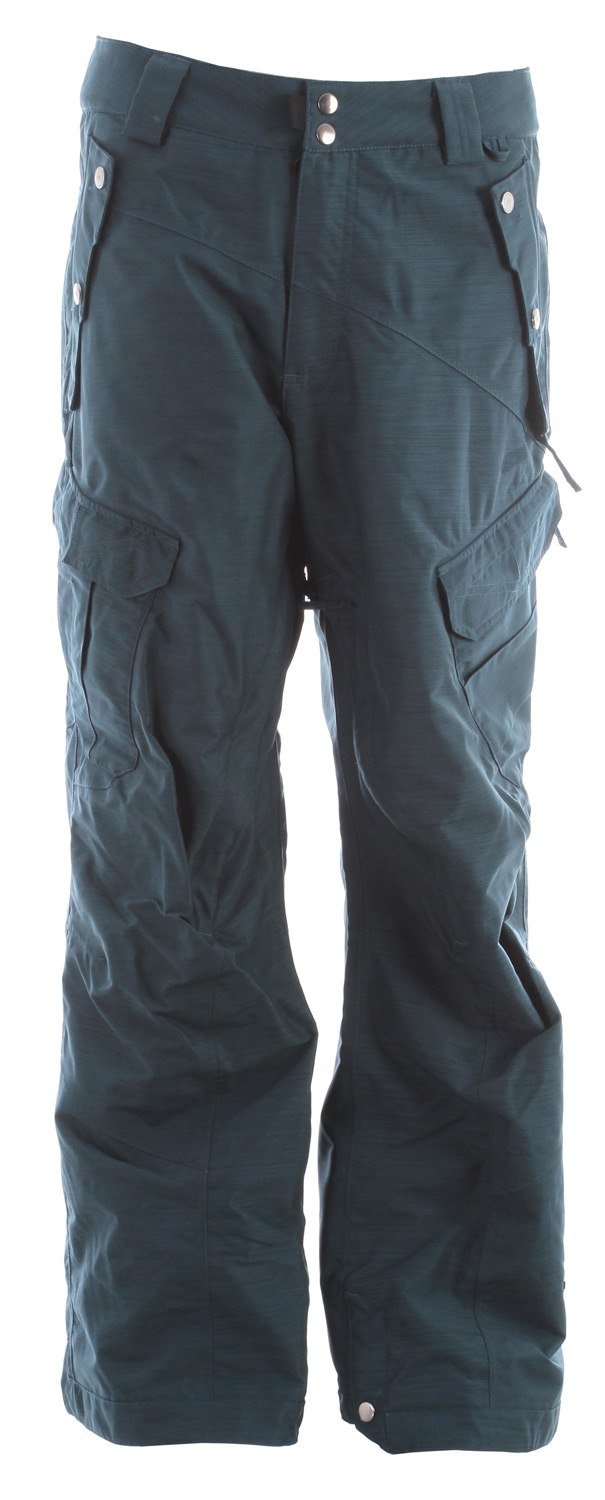 Snowboard The Belltown men's snowboard pant comes with a 15k / 10k waterproof breathable rating, Fully Taped Seams and all of the 15k Rideractive Features offering up a waterproof snowboard pant with banger style that will keep you high and dry.Key Features of the Ride Belltown Snowboard Pants: 15,000mm Waterproof 10,000g Breathability Shell snowboard pant with Mesh Lining Side Multi-Functional Cargo Pockets BOA Window Cut Out on Gaiter for Easy Boot Adjustment Inner Waist Adjustments with Double-Snap Waist Closure Articulation at the Knees Slider Liner Mesh-Lined Vents Velvety Tricot Inner Waist, Rear and Fly Shred-Free Slightly Higher Pant Leg Back Adjustable Boot Gaiters Inner Leg Snap Pleat Lift Ticket Self-Fabric Loop Front Micro-Fleece Lined Toaster Pockets Classic Fit snowboard pant - $94.95