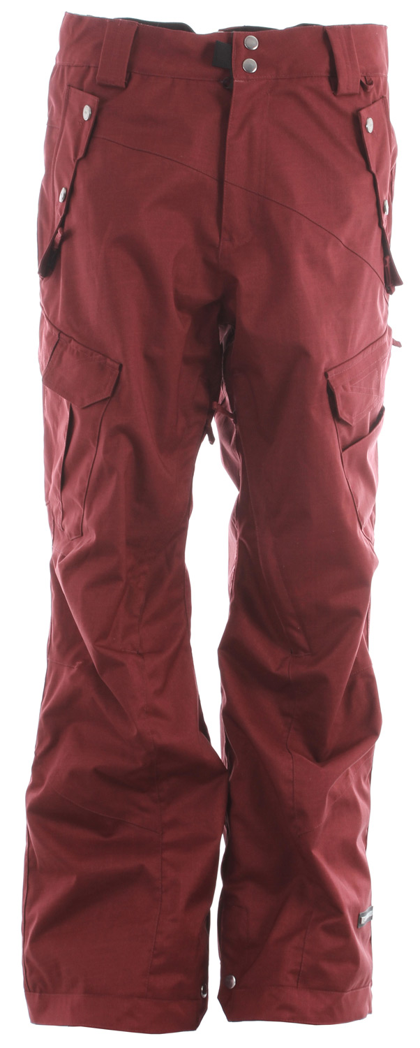 Snowboard The Belltown men's snowboard pant comes with a 15k / 10k waterproof breathable rating, Fully Taped Seams and all of the 15k Rideractive Features offering up a waterproof snowboard pant with banger style that will keep you high and dry.Key Features of the Ride Belltown Snowboard Pants: 15,000mm Waterproof 10,000g Breathability Shell snowboard pant with Mesh Lining Side Multi-Functional Cargo Pockets BOA Window Cut Out on Gaiter for Easy Boot Adjustment Inner Waist Adjustments with Double-Snap Waist Closure Articulation at the Knees Slider Liner Mesh-Lined Vents Velvety Tricot Inner Waist, Rear and Fly Shred-Free Slightly Higher Pant Leg Back Adjustable Boot Gaiters Inner Leg Snap Pleat Lift Ticket Self-Fabric Loop Front Micro-Fleece Lined Toaster Pockets Classic Fit snowboard pant - $135.95