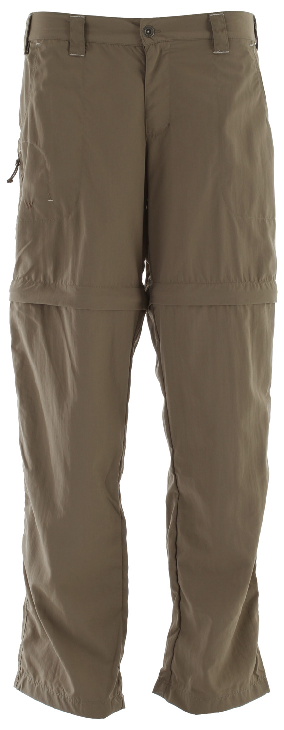 "Camp and Hike From mountain trails to sunny river banks to scorching deserts, the Sierra Point Convertible Pant swiftly converts from pants to shorts when the temps change. The lightweight nylon Sierra Cloth woven fabric dries just as quickly.Key Features of the White Sierra Sierra Point Convertible Pants: 100% nylon Sierra Cloth woven UPF 30 Comfort fit side elastic Zip secure thigh pocket Convertible pant Short inseam: 7"" Pant inseam: 29"" & 31"" - $29.95"