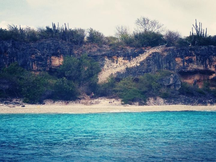 Scuba Bonaire's famed 1,000 Steps dive site...actually around 70 steps if you're counting!