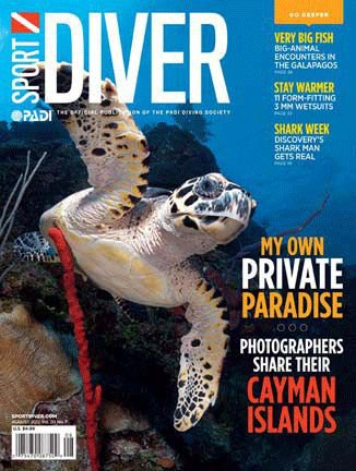 Scuba Click LIKE if the August Sport Diver cover makes you want to go diving. Look for it in your mailbox or on newsstands soon. -Carrie