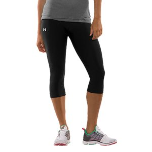 "Fitness Lightweight, 4-way stretch fabrication improves range of motion and dries fasterAnti-odor technology prevents the growth of odor-causing microbes to keep your gear fresher, longerSmooth flatlock seams prevent chafingLow rise construction for a modern feminine style17"" inseamNylon/ElastaneImported - $34.99"