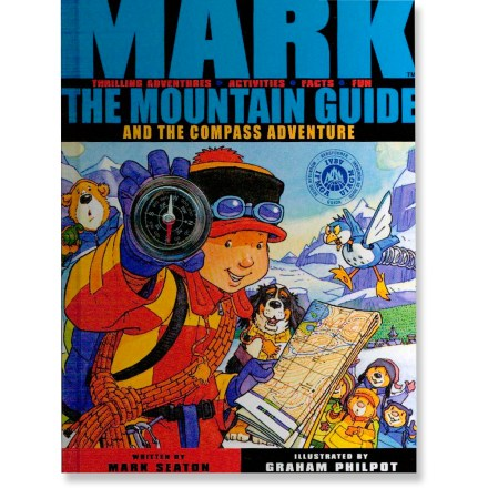 Climbing Mark the Mountain Guide and the Compass Adventure follows the fun as Mark uses his compass and map through exciting adventures in the snowy mountains. - $12.95
