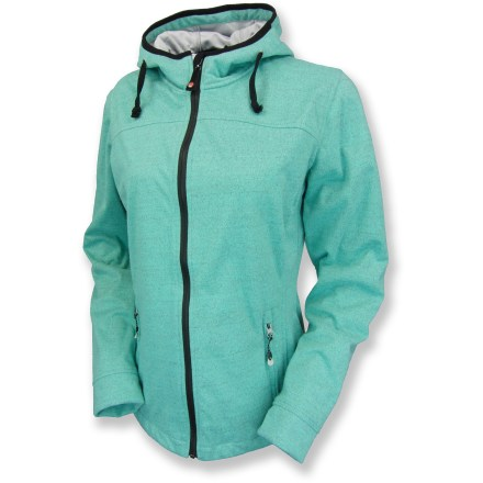Fitness The windproof Killtec Sardy fleece jacket is ready to take on blustery days with the soft, stretchy feel of a favorite old sweatshirt. Windproof, water-resistant polyester fabric keeps the elements at bay while remaining breathable; flat-knit front adds casual style. Water-resistant front zipper features an internal draft flap to keep out wind; chin guard protects against abrasion. Attached, adjustable hood ensures complete coverage. Zippered hand pockets provide easy storage. The Killtec Sardy fleece jacket features an adjustable drawcord at hem to seal in warmth. - $56.83