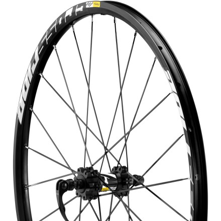 Fitness The entry-level 26'' Mavic Crossride Disc front wheel delivers trail-ready toughness and lasting performance at great value. - $64.83