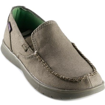With loads of natural love, the Patagonia Naked Maui shoes are comfort-maximizing, slip-on rockstars that go about town, chill on the deck or take in beach vistas with plenty of casual comfort. - $20.83