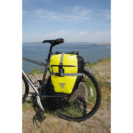 Fitness Seattle Sports Titan panniers carry your daily essentials with ease, and help block out the weather. - $91.73