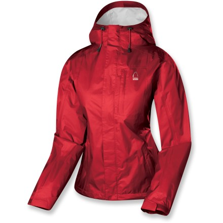 Lightweight and easy to pack, the wind- and waterproof Sierra Designs women's Hurricane rain jacket keeps you dry in sudden rain showers around town or in the backcountry. - $49.73
