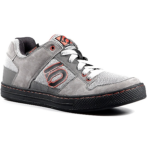 Fitness Free Shipping. Five Ten Men's Freerider Shoe DECENT FEATURES of the Five Ten Men's Freerider Shoe Designed to make the transition from downhill to bike park The comfortable fit Breathable Action Leather and mesh upper Supportive midsole High-friction Stealth Freerider Dotty tread outsole Sticky Stealth S1 has excellent cushioning and shock absorbing properties The SPECS Weight:(size 9) 14.4 oz/ 408.96 g ea. Upper Material: Action Leather Closure: Laces - $99.95