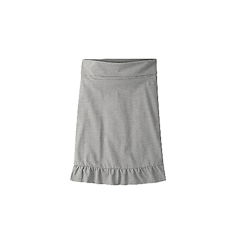 Mountain Khakis Women's Anytime Knit Skirt DECENT FEATURES of the Mountain Khakis Women's Anytime Knit Skirt 6.5 oz 90% Cotton/10% Spandex Jersey Knit 6in. Fold Over Waistband - Adjustable for Lengths MK Lasso Chain Stitch Embroidery Garment Washed Casual Fit, Feminine Flair The SPECS Waist: XS - XL - $44.95