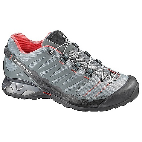Camp and Hike Free Shipping. Salomon Women's X-Over Shoe DECENT FEATURES of the Salomon Women's X-Over Shoe Textile Quicklace 3D Advanced Chassis Low Lace Pocket Textile OrthoLite Non Marking Contagrip - $129.95