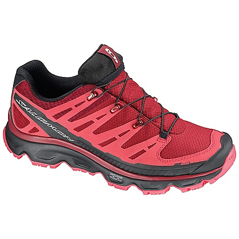 Camp and Hike Free Shipping. Salomon Women's Synapse CS WP Shoe DECENT FEATURES of the Salomon Women's Synapse CS WP Shoe Lace Pocket Quicklace Easy-on, easy-off OrthoLite Protective Rubber Toe Cap Textile Non Marking Contagrip Low Mud Guard Molded EVA Gusseted Tongue Sensifit EVA Shaped Footbed - $139.95