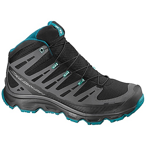 Camp and Hike Free Shipping. Salomon Women's Synapse Mid CS WP Boot DECENT FEATURES of the Salomon Women's Synapse Mid CS WP Boot Lace Pocket Quicklace OrthoLite Protective Rubber Toe Cap Textile Non Marking Contagrip Mid Mud Guard Molded EVA Gusseted Tongue Sensifit EVA Shaped Footbed - $159.95