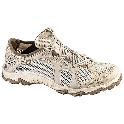 Camp and Hike Free Shipping. Salomon Women's Light Amphib 3 Shoe DECENT FEATURES of the Salomon Women's Light Amphib 3 Shoe Quick Drying Breathable Mesh Optimized Fit for Women Women's Specific Design Anti-Debris Mesh Non-marking Water Contagrip It leaves no traces whatever the terrain Molded EVA Articulated Collar Die Cut EVA - $84.95