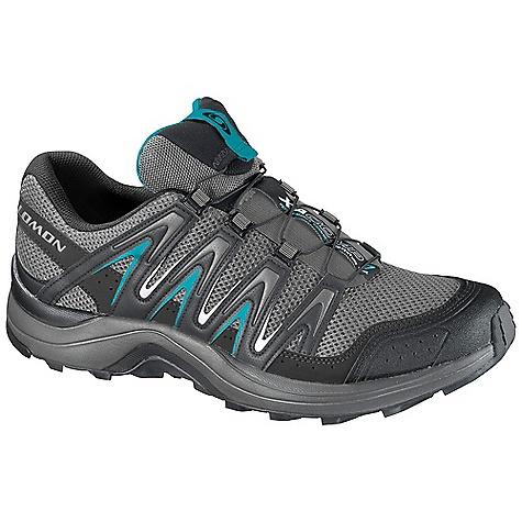 Fitness Free Shipping. Salomon Women's XA Comp 7 Shoe DECENT FEATURES of the Salomon Women's XA Comp 7 Shoe Strategically Placed Textile Parts Lace Pocket Quicklace Molded EVA Textile Tongue Cover Non Marking Running Contagrip Quick Drying Breathable Mesh Protective Rubber Toe Cap Low Sensifit OrthoLite - $109.95