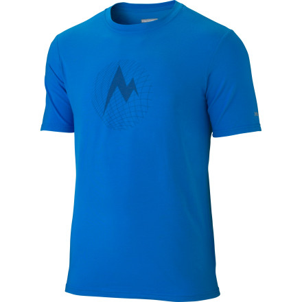 Fitness Wear your Marmot Mdot Grid Short-Sleeve T-Shirt when you want to get your workout on. It doesn't matter if your workout involves a day at the crag, a challenging trail run, or a hard-hitting gym session, this performance shirt will get move sweat away from your skin so it can evaporate quickly and help your body keep itself cool. - $37.95