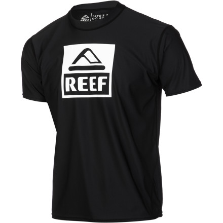 Surf The waves are supposed to be good all day, so make sure you don't come out of the water at the end of a long day looking like a lobster from the sunburn on your back and rash on your chest with the Reef Surf Shirt 2. It features elastane to provide the stretch needed for freedom of movement while paddling, and charcoal bamboo helps regulate temperature and has anti-microbial properties so you don't have to wash it every time you use it. Not that you were going to, anyway. - $31.95