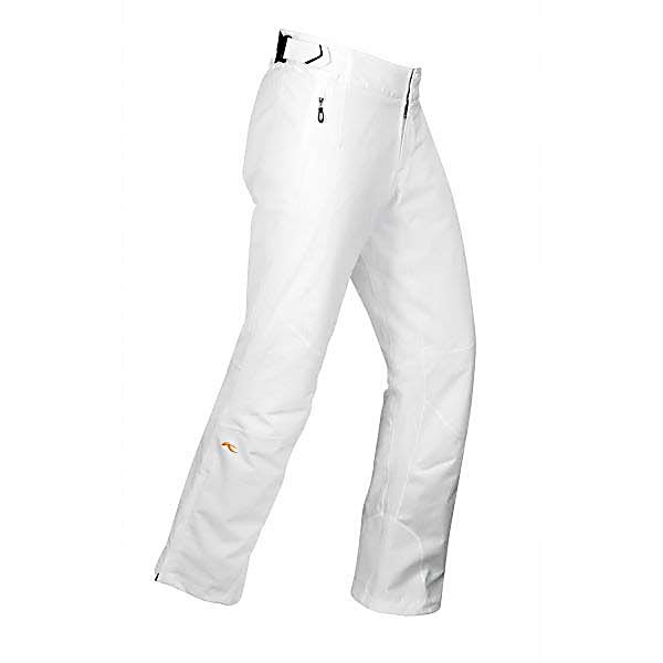 Ski KJUS Formula Short Womens Ski Pants - Kjus Formula Short Womens Ski Pants are flexible, waterproof and insulated to provide you with the protection and the dependability to keep you warm and protected this winter season through any kind of weather mother nature throws your way. The 4-way stretch fabric allows for freedom of movement and a comfortable fit each time that they are worn. The thinsulate platinum flex stretch insulation moves too, while it keeps you warm without adding too much bulk. And although these pants are exceptionally waterproof, they're also more breathable than most fabrics, so moisture won't build up as you become more active. Comfortable and technical with the high tech schoeller-dynatec reinforcement at the hem to keep the hem from fraying. Kjus has refined and fine-tuned this pair of Formula Short Womens Ski Pants to provide you with the best, while looking your best while on or off of the mountain. Features: Ergonomically shaped knees, Fixation loops to connect jacket and pants, Snowgaiter. Exterior Material: Polyester, Softshell: No, Insulation Weight: 70g, Taped Seams: Critically Taped, Waterproof Rating: 20,000mm, Breathability Rating: 20,000g, Full Zip Sides: No, Thigh Zip Venting: No, Suspenders: None, Articulated Knee: Yes, Low Rise: No, Warranty: Lifetime, Race: No, Waterproof: High Waterproofing (15,001 - 20,000mm), Breathability: High Breathability (15,001 - 20,000g), Use: Ski, Type: Insulated, Pant Fit: Regular, Lining Material: Polyester, Waist: Adjustable, Pockets: 3-4, Model - $199.92