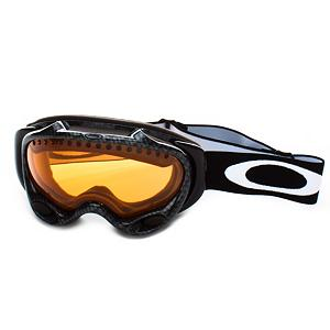 Ski Oakley A Frame Goggles 2013 - The A Frame goggles are the pinnacle of technology to maximize comfort and clarity. Oakley has devised a three-tiered defense system against fog buildup by including a formulated F3 treatment to coat the lenses, surge ports to control airflow, and dual lenses with a thermal barrier of trapped air which reduce any chance of fog formation. That leaves nothing but a crystal clear view thanks to the patented Polaric Ellipsoid lens geometry that minimizes distortion on all angles of vision. And to push the envelope even further they have included the High Definition Optics working in conjunction with the optional Iridium lens coating for the sharpest vision without corruption that will boost contrast and increase depth perception for unbeatable definition. They also have surpassed all standards for impact protection and have 100% UV blockage on all harmful rays. To offer a natural anatomical fit Oakley has engineered the frame to maintain a continuous seal and added a thick triple-layer of polar fleece foam to optimize comfort while it wicks away moisture. It also features articulating strap clips which help to evenly distribute pressure across the face either with or without a helmet. The A frame raises the bar on what you have come to expect from Oakley with exceptional optical performance, fit and comfort. Features: Developed with 3-D CAD/CAM Engineering for a True Anatomical Fit. Rubberized Strap: Yes, Helmet Compatible: Yes, Frame Size: Small, Frame Size: Medium, Lens Shape: Spherical, Lens Coating: n/a, Has Fan: No, Headphones Included: No, Product ID: 165366, Model Year: 2013, Photochromatic: No, Polarized: No, Spherical Lens: Yes, Frame Size: Medium, Fog Fan: No, Comes w/ Case: No, OTG: No, Category: Adult, Race: No - $59.95