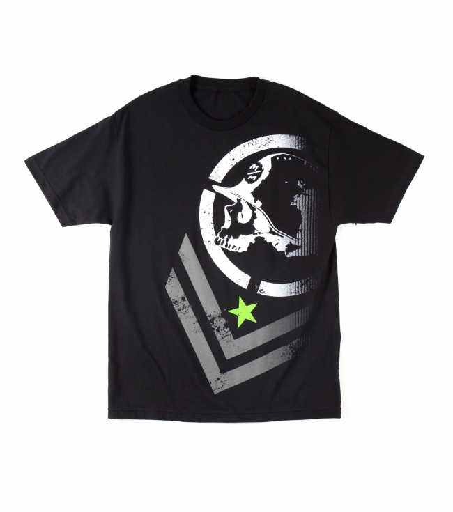 Motorsports Metal Mulisha Mens Tee.  100% Cotton.  Screenprint. - $22.00