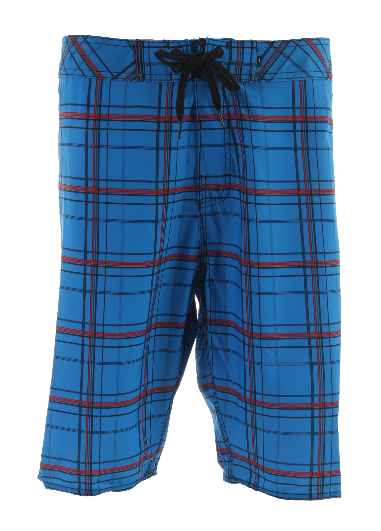 Surf These Plaid Boardshorts are made with a quick drying polyester that also stretches. This will help keep you comfortable all day and the quick dry material will cut down on dry time. Leaving you more time to do what you like to do.Key Features of the Element Ready Aim Plaid Boardshorts Rasta: Fabric: 100% recycled polyester with mechanical flex lightweight, quick-dry Outseam: 22 in - $31.95