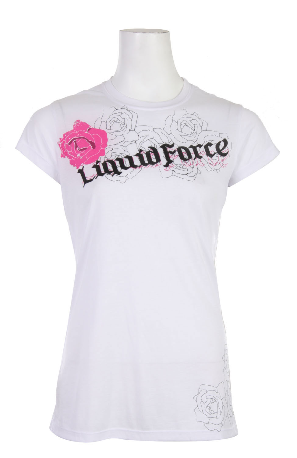 Key Features of The Liquid Force Rose By Name T-Shirt: Regular Fit Crew Neck Short Sleeve - $6.96