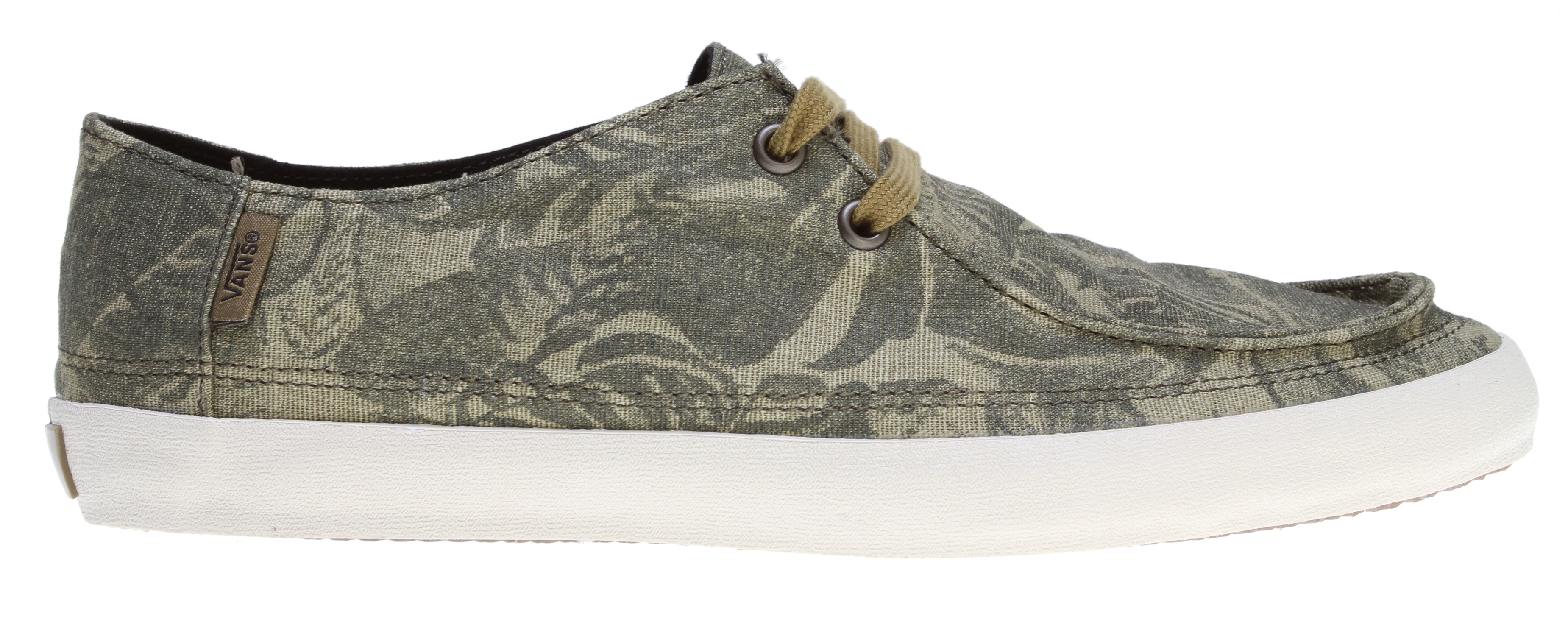 Skateboard Key Features of the Vans Rata Vulc Skate Shoes: Hemp, Recycled pet or canvas uppers Super comfy vanslite footbed Flexi vulc gum rubber outsole Water-based inks and glues Classic fit style - $29.95